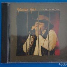 CDs de Música: CD DE MUSICA CHARLIE MCCOY GREATEST HITS AÑO 1992 VER FOTOS HAZTE CON EL. Lote 207724908