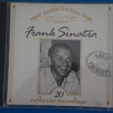CDs de Música: CD DE MUSICA FRANK SINATRA 20 REFLECTIVE RECORDINGS AÑO ????. Lote 207726345