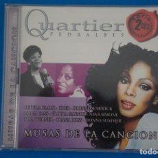 CDs de Música: CD DE MUSICA QUARTIER PEDRALBES MUSAS DE LA CANCION AÑO 2004. Lote 207726606