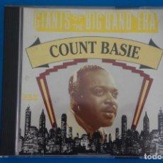 CDs de Música: CD DE MUSICA COUNT BASIE GIANTS OF THE BIG BAND ERA AÑO 1993. Lote 207727330