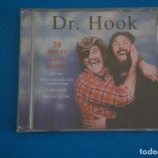 CDs de Música: CD DE MUSICA DR. HOOK 20 GREAT LOVE SONGS AÑO 1996. Lote 207729385