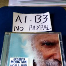 CDs de Música: CD GEORGES MOUSTAKI NEW ÁLBUM CAJA ALGÚNA RALLA. Lote 207802563