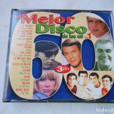 CDs de Música: EL MEJOR DISCO DE LOS 60 VOL. 1 - 3 CD. Lote 207805236