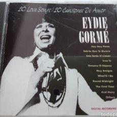 CDs de Música: EYDIE GORMÉ / 20 CANCIONES DE AMOR / CD ORIGINAL. Lote 207805997