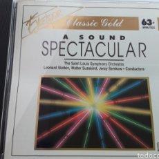CDs de Música: A SOUND SPECTACULAR / THE SAINT LOUIS SYMPHONY ORCHESTRA / CD ORIGINAL. Lote 207811571
