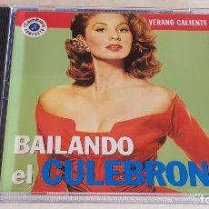 CDs de Música: VERANO CALIENTE Nº 15 / BAILANDO EL CULEBRON / CD - CAMBIO 16 / 10 TEMAS / DE LUJO.. Lote 207861593