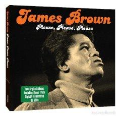 CDs de Música: JAMES BROWN * 2CD * PLEASE PLEASE PLEASE * CARDBOARD PACKAGING * PRECINTADO!!. Lote 207864667