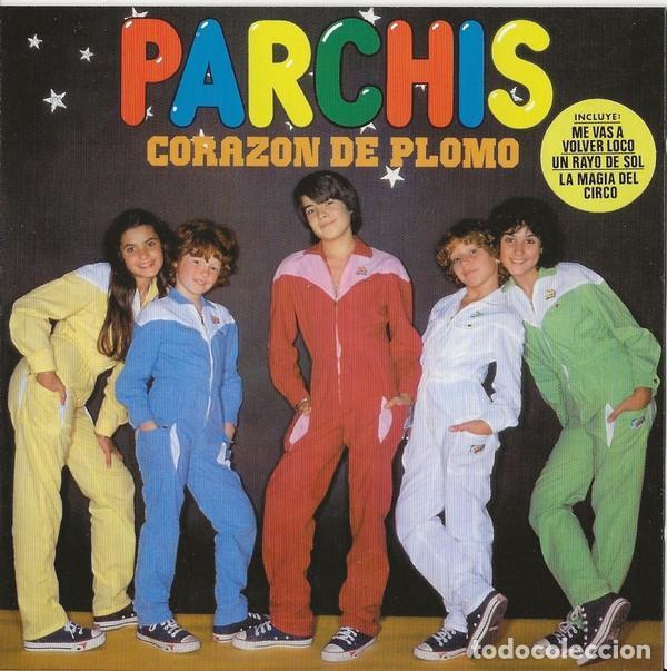PARCHIS * CD * CORAZÓN DE PLOMO * INENCONTRABLE EN CD * PRECINTADO!!! (Música - CD's Otros Estilos)