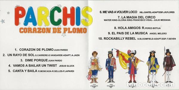 CDs de Música: PARCHIS * CD * CORAZÓN DE PLOMO * INENCONTRABLE EN CD * PRECINTADO!!! - Foto 2 - 207886552