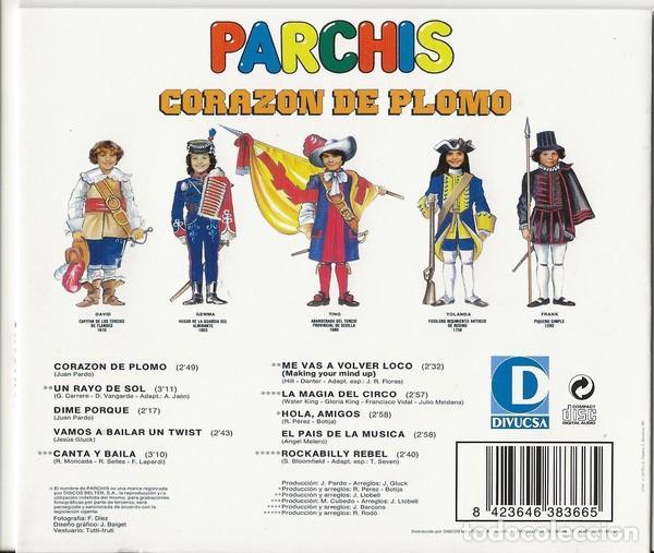 CDs de Música: PARCHIS * CD * CORAZÓN DE PLOMO * INENCONTRABLE EN CD * PRECINTADO!!! - Foto 3 - 207886552