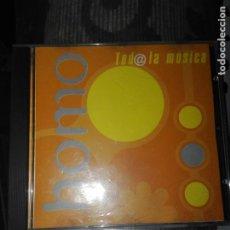 CDs de Música: HOMO TOD@ LA MUSICA. Lote 207893106