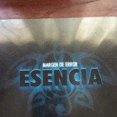 CDs de Música: MARGEN DE ERROR-ESENCIA-PRECINTADO NUEVO-HIP HOP RAP-RARO. Lote 207911010