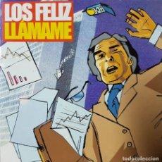 CDs de Música: LOS FELIZ - LLÁMAME - PUNK ROCK DE VIGO - RARO CD PROMOCIONAL - 2002. Lote 208005933