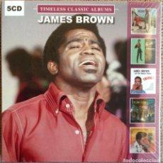 CDs de Musique: JAMES BROWN - TIMELESS CLASSIC ALBUMS - 5 CDS - NUEVO PRECINTADO EDICIÓN RUSA 2017. Lote 208064495