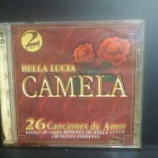 CDs de Música: 2 CD CAMELA BELLA LUCIA.NEW AND SEALED 2002 PEPETO. Lote 208108797
