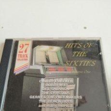 CDs de Música: G-4 CD MUSICA HITS OF THE SIXTIES VOLUME ONE CHUBBY CHECKER BOBBY VEE ETC. Lote 208168993