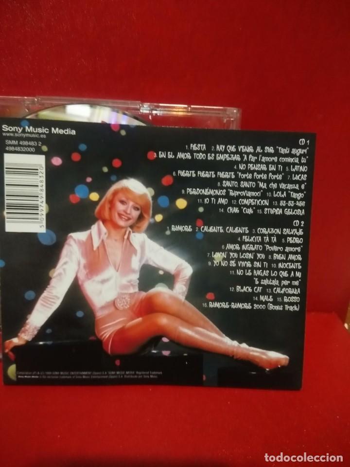 CDs de Música: DOBLE CD RAFFAELLA CARRÀ : TUTTO CARRÀ (EDICION SONY MUSIC ESPAÑA, 1999) EN ESPAÑOL ITALIANO, INGLES - Foto 7 - 90913730