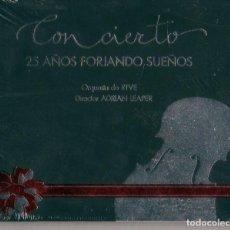 CDs de Música: ADRIAN LEAPER - ORQUESTA DE RTVE / CONCIERTO 25 AÑOS FORJANDO SUEÑOS. Lote 208172008