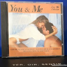 CDs de Música: YOU & ME, CD BALADAS, MELÓDICO.. Lote 208231906