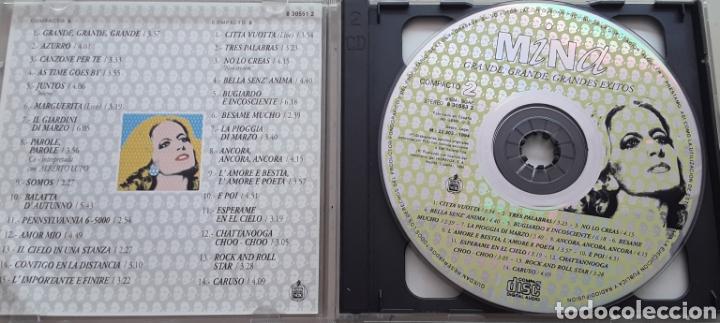 CDs de Música: Mina / Grande, grande, Grandes éxitos / 2 cd Original año 1994 - Foto 3 - 208236883
