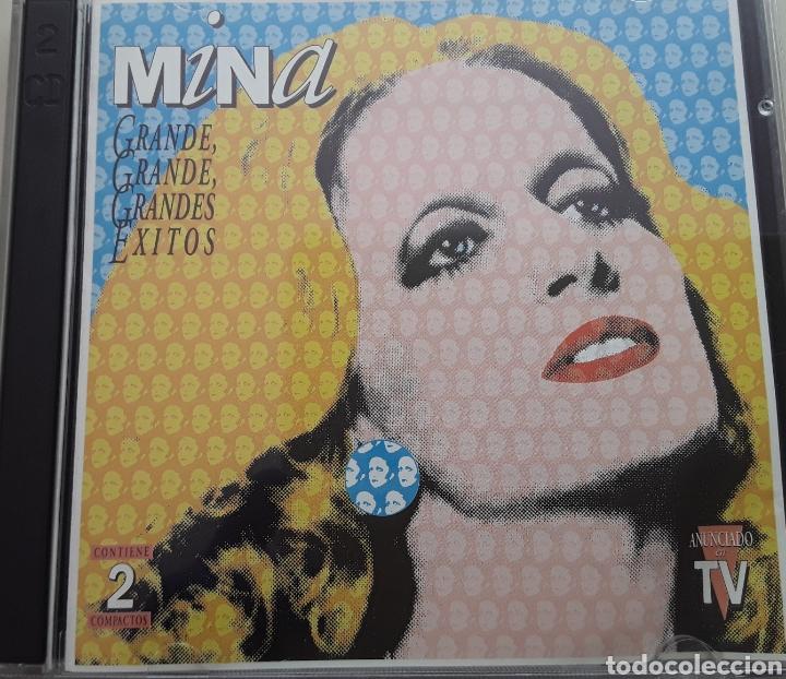 MINA / GRANDE, GRANDE, GRANDES ÉXITOS / 2 CD ORIGINAL AÑO 1994 (Música - CD's Melódica )