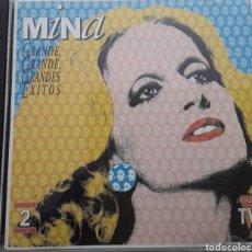 CDs de Música: MINA / GRANDE, GRANDE, GRANDES ÉXITOS / 2 CD ORIGINAL AÑO 1994. Lote 208236883