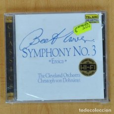 CDs de Musique: THE CLEVELAND ORCHESTRA - BEETHOVEN SYMPHONY NO 3 EROICA - CD. Lote 208276350