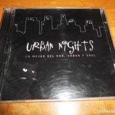 CDs de Música: URBAN NIGHTS LO MEJOR DEL RNB URBAN Y SOUL DOBLE CD 2005 JAY-Z MYA TLC PINK USHER MACY GRAY 2 CD. Lote 208300717