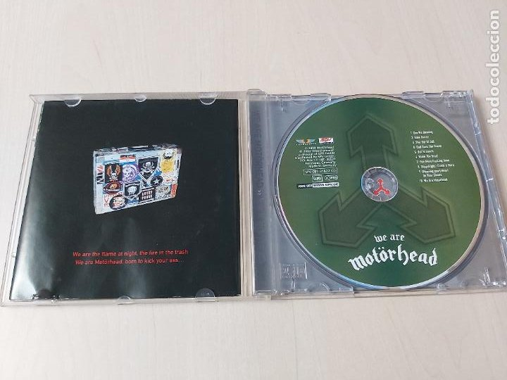 CDs de Música: CD - MOTORHEAD - WE ARE MOTORHEAD - Foto 2 - 208309372