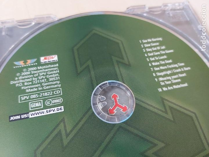 CDs de Música: CD - MOTORHEAD - WE ARE MOTORHEAD - Foto 3 - 208309372