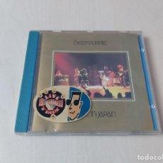 CDs de Música: CD - DEEP PURPLE - MADE IN JAPAN. Lote 208309820