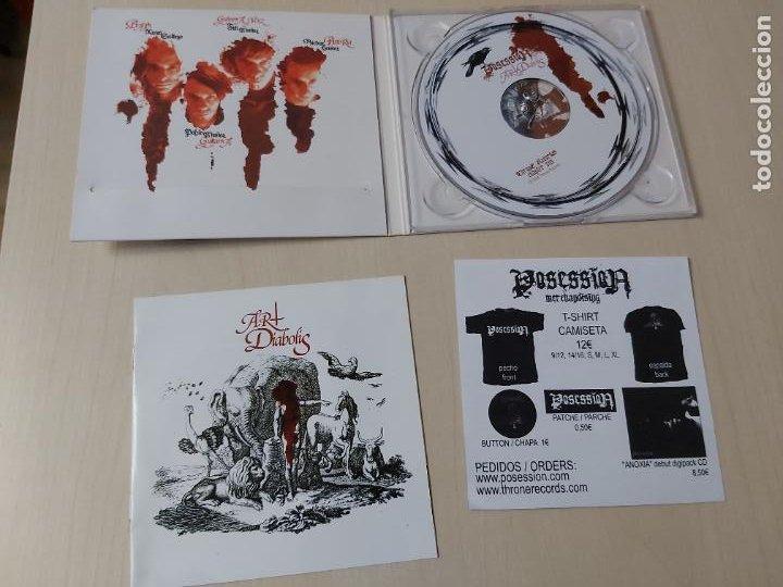 CDs de Música: CD - POSSESSION ART DIABOLIS - Foto 2 - 208310980