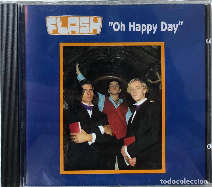 FLASH CD SINGLE OH HAPPY DAY, BÉLGICA (Música - CD's World Music)
