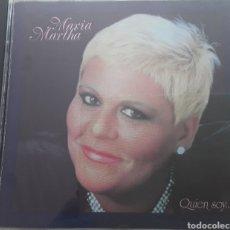 CDs de Música: MARÍA MARTHA / QUIEN SOY ... / CD ORIGINAL. Lote 208349758