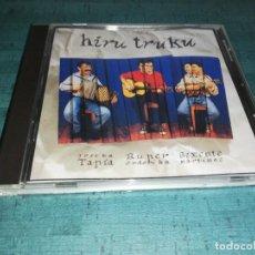 CDs de Música: TAPIA, RUPER, BIXENTE - HIRU TRUKU. Lote 208433200
