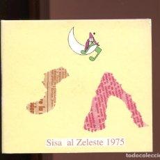 CD de Música: SISA AL ZELESTE 1975. CD. Lote 208449281