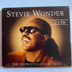 CDs de Música: 2 CD STEVIE WONDER - THE DEFINITIVE COLLECTION DE 2002. Lote 208462267