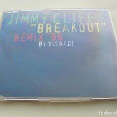 CDs de Música: JIMMY CLIFF BREAKOUT 3 VERSIONES REMIX ´96 + 1 CD SINGLE. Lote 208533188