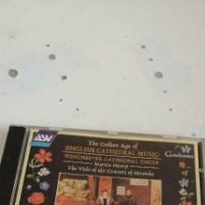 CDs de Música: G-5 CD MUSICA THE GOLDEN AGE OF ENGLISH CATHEDRAL MUSIC MARTIN NEARY. Lote 208565233