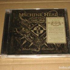 CDs de Música: (SIN ABRIR) MACHINE HEAD - BLOODSTONE & DIAMONDS. Lote 208582981