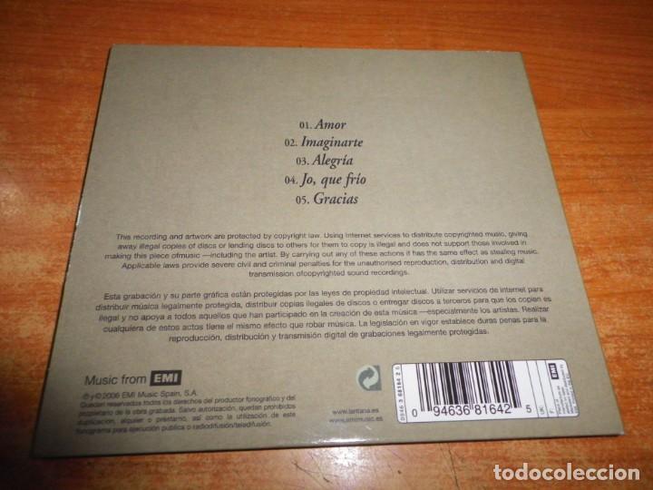 CDs de Música: LANTANA Amor CD DIGIPACK 2006 5 TEMAS GONZALO LASHERAS PABLO NOVOA GOLPES BAJOS SUSO SAIZ - Foto 3 - 208586072