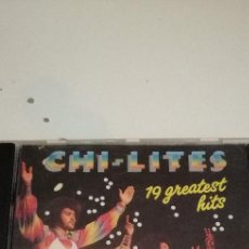 CDs de Música: G-5 CD MUSICA CHI-LITES 19 GREATEST HITS. Lote 208591015