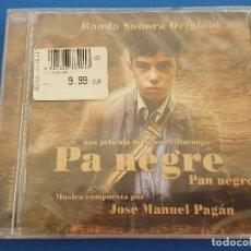 CDs de Música: CD / B.S.O. PA NEGRE - MÚSICA COMPUESTA POR JOSE MANUEL PAGÁN, NUEVO Y PRECINTADO. Lote 208656362