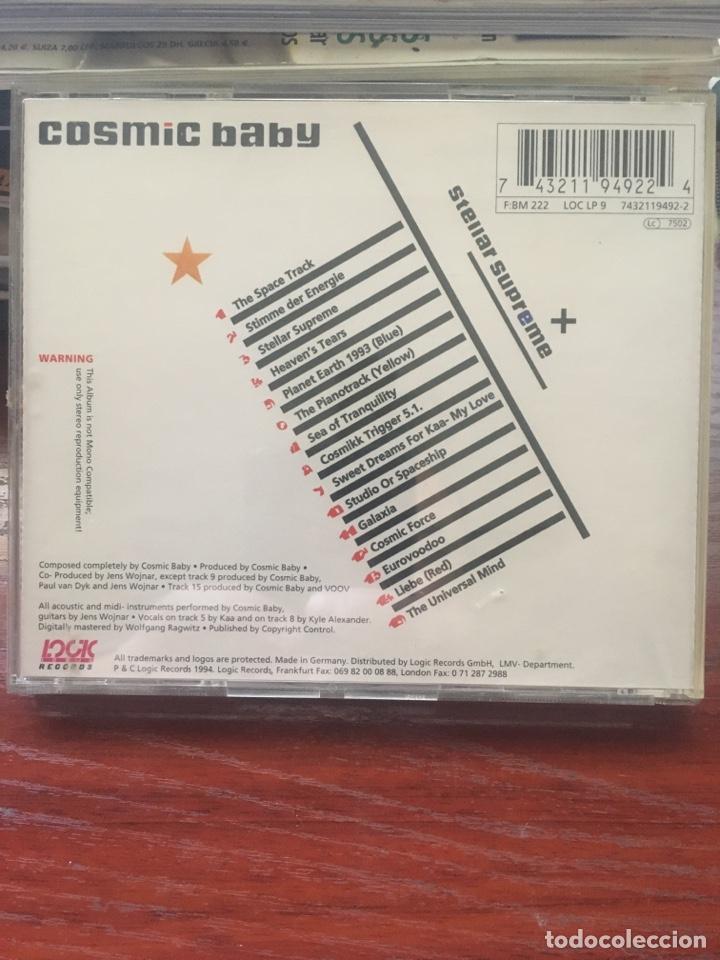 CDs de Música: COSMIC BABY-STELLAR SUPREME-RARO Y DIFICIL DE ENCONTRAR - Foto 2 - 208680127