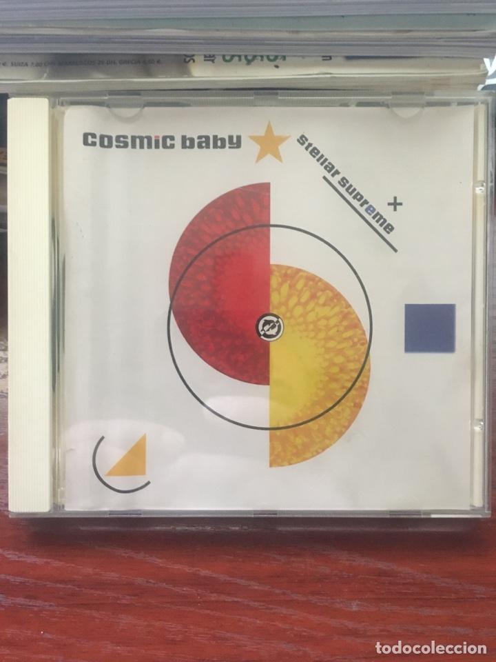 COSMIC BABY-STELLAR SUPREME-RARO Y DIFICIL DE ENCONTRAR (Música - CD's Techno)