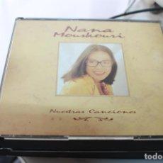 CD di Musica: NANA MOUSKOURI NUESTRAS CANCIONES DOBLE CD ALBUM AÑO 1991 ESPAÑA 24 TEMAS. Lote 208695626