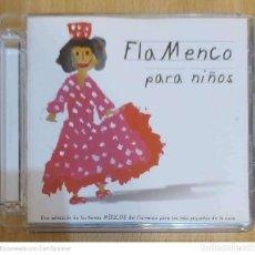CDs de Música: FLAMENCO PARA NIÑOS - CD 2008 (PACO DE LUCIA, CAMARON, PITINGO, BAMBINO, TOMATITO, JUAN PEÑA...). Lote 208719053