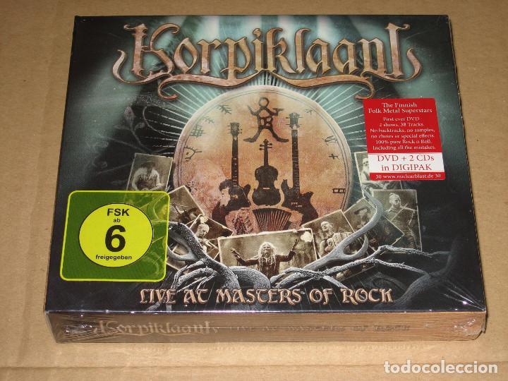(SIN ABRIR) KORPIKLAANI - LIVE AT MASTERS OF ROCK __ (2 CDS + DVD) DIGIPAK _______ FOLK METAL (Música - CD's Heavy Metal)