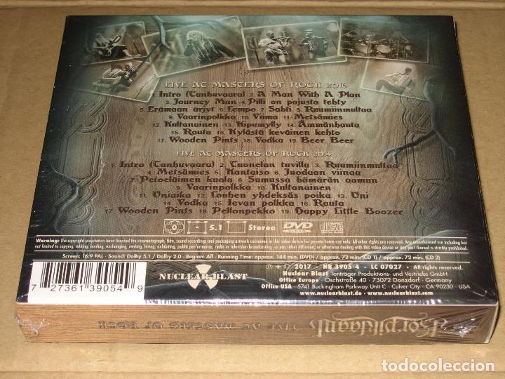 CDs de Música: (SIN ABRIR) Korpiklaani - Live at Masters of Rock __ (2 CDs + DVD) DIGIPAK _______ FOLK METAL - Foto 2 - 208747967