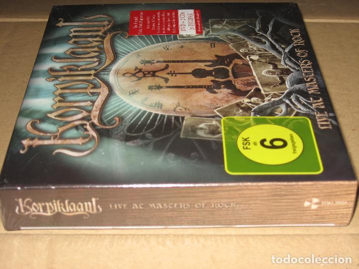 CDs de Música: (SIN ABRIR) Korpiklaani - Live at Masters of Rock __ (2 CDs + DVD) DIGIPAK _______ FOLK METAL - Foto 3 - 208747967